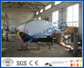 SUS316L Horizontal Milk Transport Tank With Insulation Layer 1000L-8000L Capacity