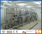 SUS304 Pure Milk Production Line / 2000L/H Milk Processing Plant With PLC Control