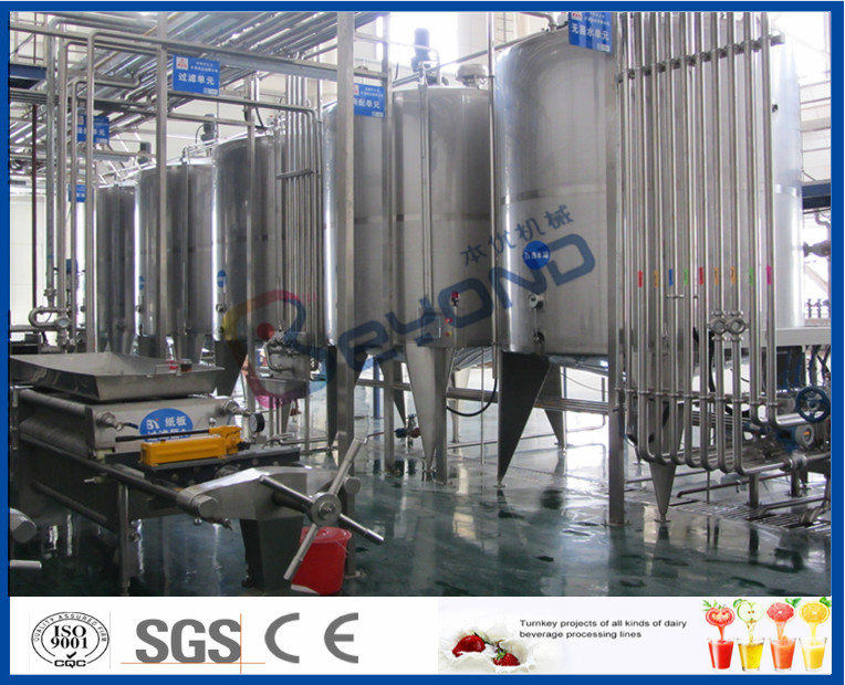 Full Automatic Soft Drink Production Line For Energy Drink Manufacturing Process 3000-20000BPH