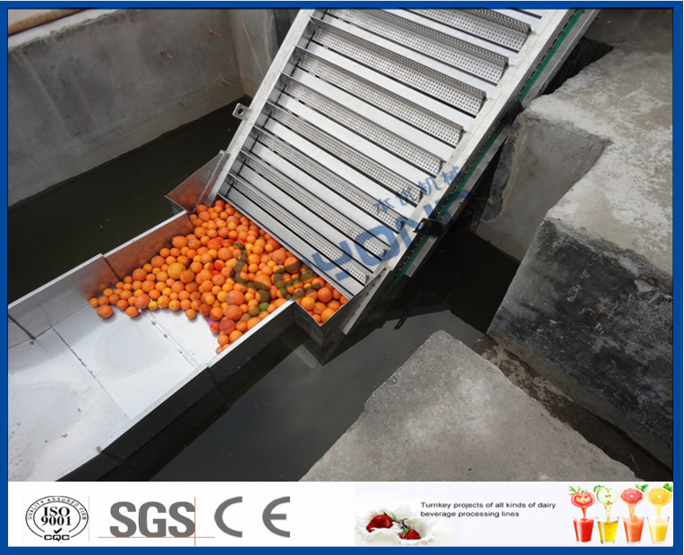 Fruit Juice Processing Equipment Orange Processing Line 5000kg / Hour ISO9001 CE/SGS